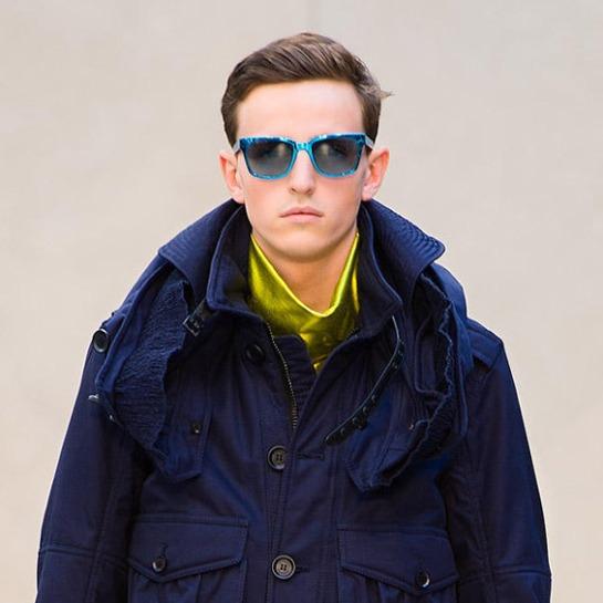 burberry blue sunglasses j3bx  Splash sunglasses by Burberry